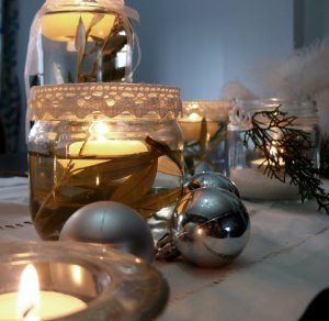 ideas para decorar mesas en navidad