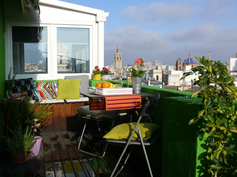 como aprovechar bien una terraza
