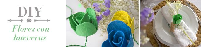 DEF DECO -diy flor huevera