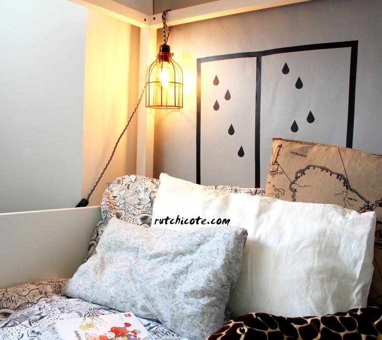 Lámpara-jaula-habitación-infantil