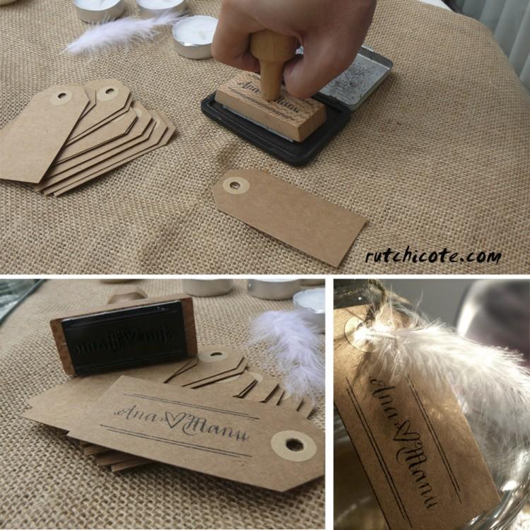 Etiquetas-con-cuño-de-madera-bodas