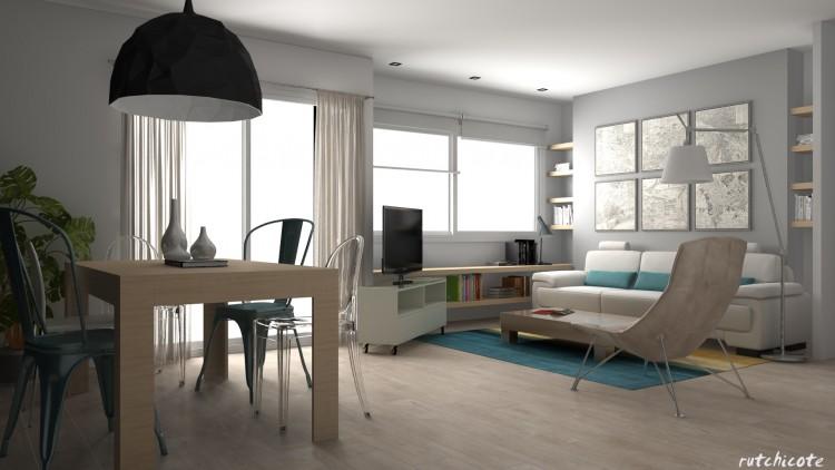 Decoración-salón-proyecto-de-interiorismo-valencia