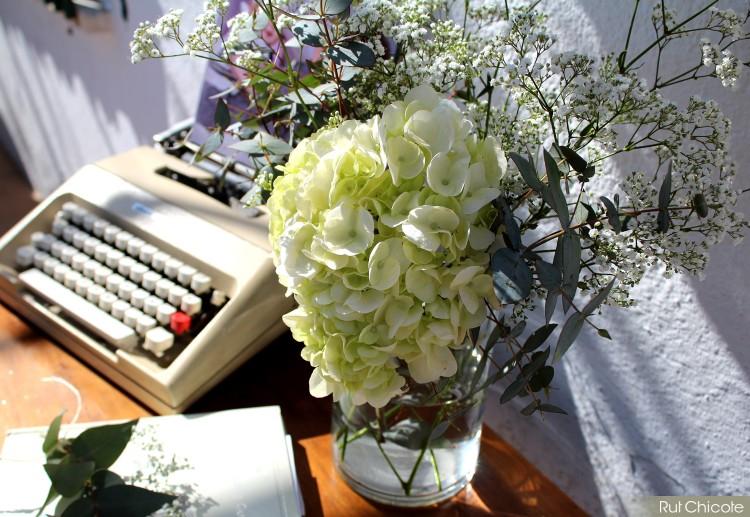 Hortensias-para-decoración-de-mesa
