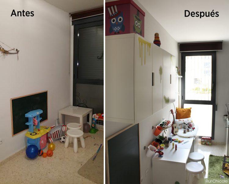 Antes-y-después-rincón-creativo-para-niños