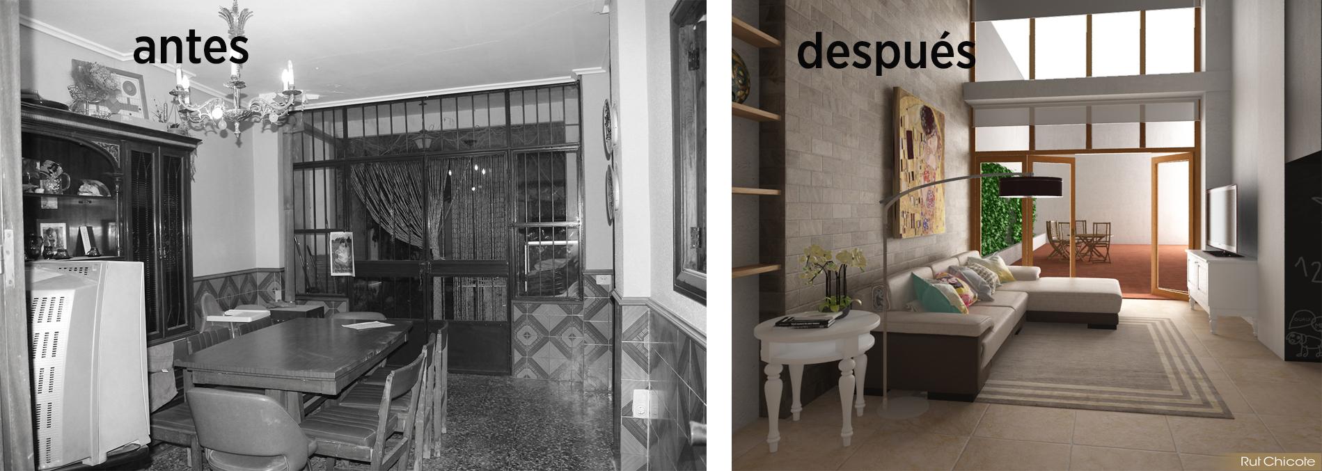 Dise O De Casa Vivienda En B Tera Rutchicote ~ Reformas De Casas Antiguas Antes Y Despues