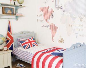decorar-paredes-con-mapas-infantil
